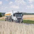 Auslieferung der Mehle erfolgt durch moderne Tanklaster oder im Sack per LKW